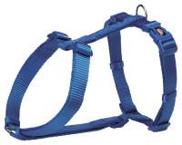Trixie Premium H Geschirr blau