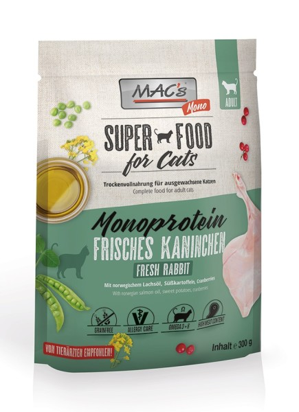 Macs Cat Superfood Mono Kaninchen