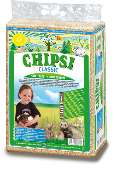 Chipsi Classic Hobelspäne 3,2 kg