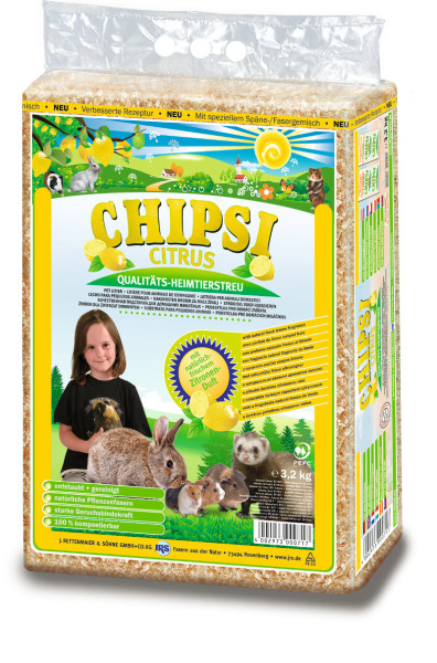 Chipsi Citrus Hobelspäne 3,2 kg