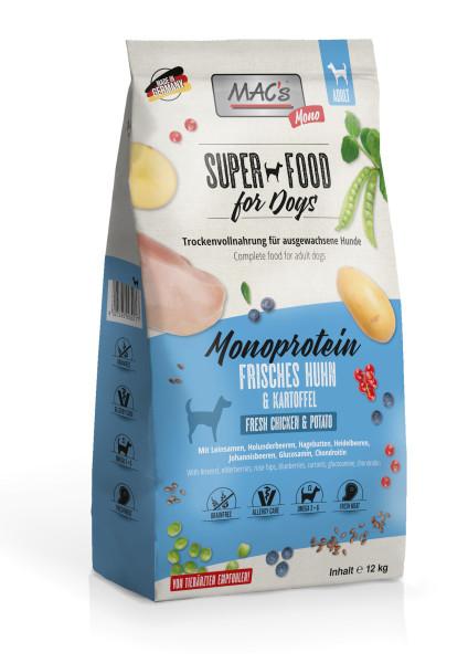 Macs Dog Superfood Mono Huhn 12 kg