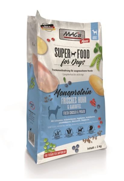 Macs Dog Superfood Mono Huhn 3 kg