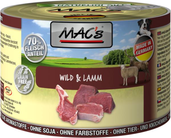 Macs Wild + Lamm 200 g