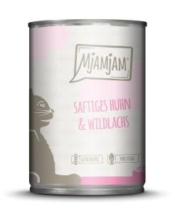 Mjamjam saftiges Huhn + Wildlachs 400 g