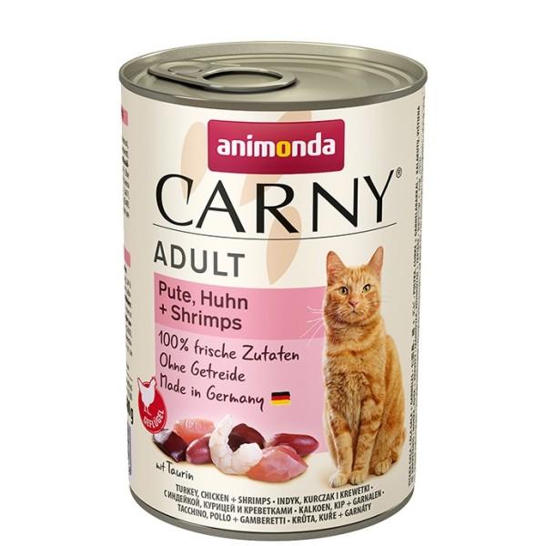 Animonda Carny Adult Pute, Huhn + Shrimps 400 g