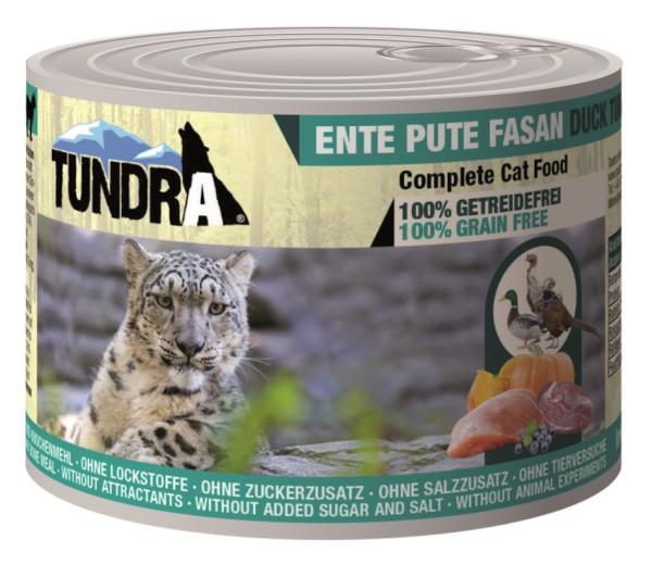 Tundra Cat Ente + Pute + Fasan 200 g