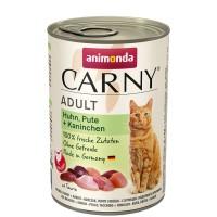 Animonda Carny Adult Huhn, Pute + Kaninchen 400 g