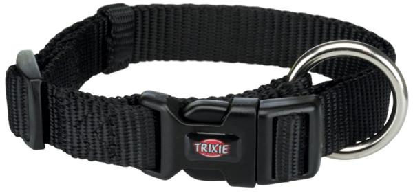 Trixie Premium Halsband schwarz S - M