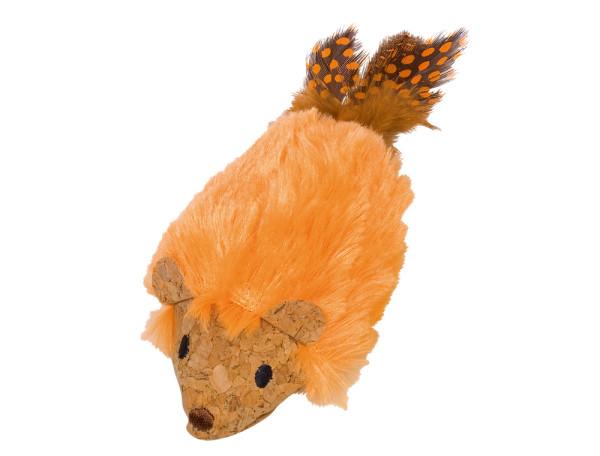 Nobby Plüsch Maus mit Catnip orange