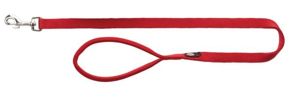 Trixie Premium Leine rot 15 mm