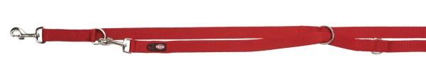 Trixie Premium Verlängerungleine rot 15 mm