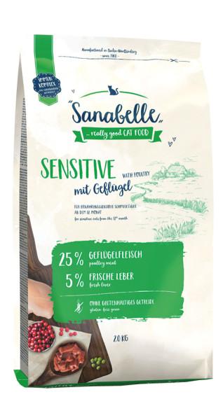 Sanabelle Sensitive mit Geflügel 2 kg