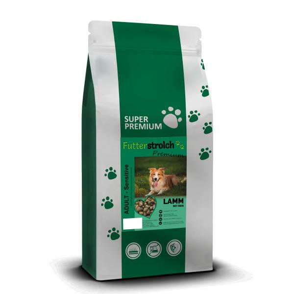 Futterstrolch Super Premium Lamm und Reis 12 kg