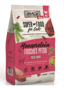 Macs Cat Superfood Mono Pferd 1,5 kg