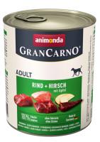 Animonda Gran Carno Rind, Hirsch + Apfel 800 g