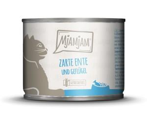 Mjamjam zarte Ente + Geflügel an Möhrchen 200 g