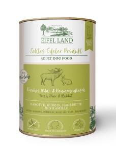Eifel Land frisches Wild + Kaninchenfleisch 400 g