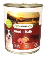 Futterstrolch Rind + Kalb 800 g