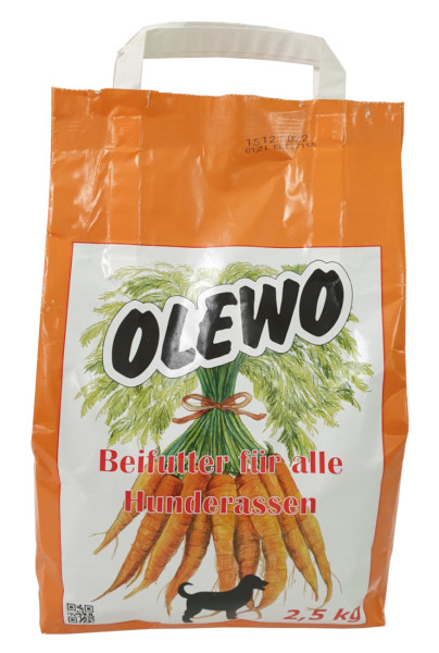 Olewo Karotten Pellets 2,5 kg