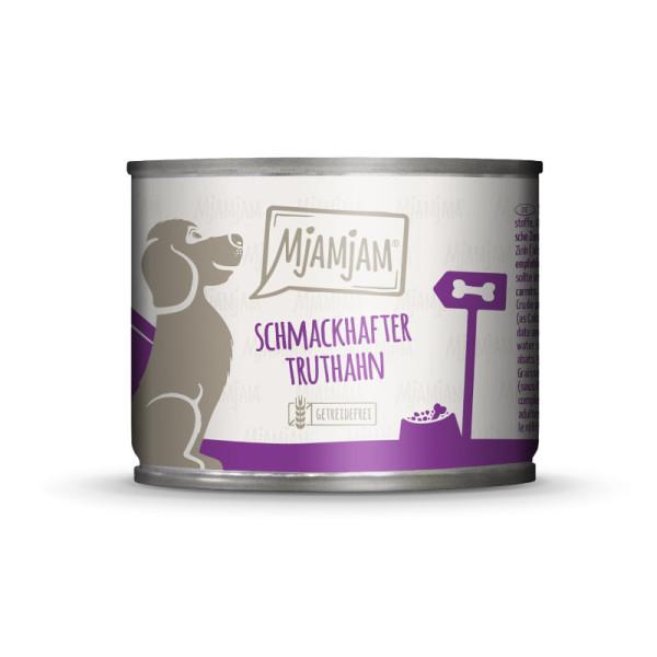 Mjamjam Dog schmackhafter Truthahn 200 g