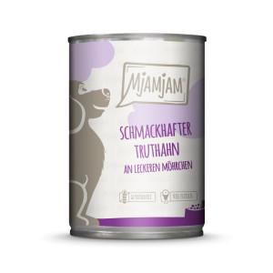Mjamjam Dog schmackhafter Truthahn 400 g