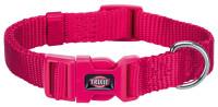 Trixie Premium Halsband Fuchsia S - M