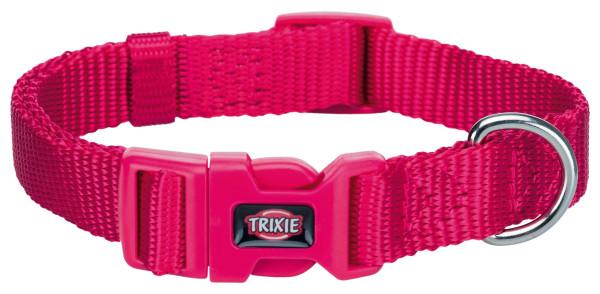Trixie Premium Halsband Fuchsia S