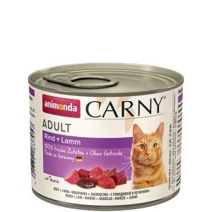 Animonda Carny Adult Rind + Lamm 200 g
