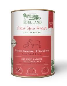 Eifel Land frisches Kaninchen + Lammfleisch 400 g
