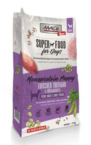 Macs Dog Superfood Mono Puppy Truthahn 3kg