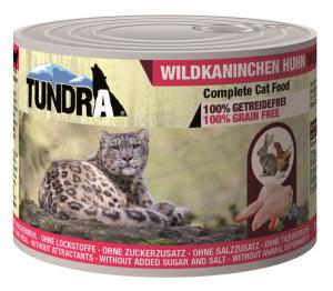 Tundra Cat Wildkaninchen + Huhn 200 g