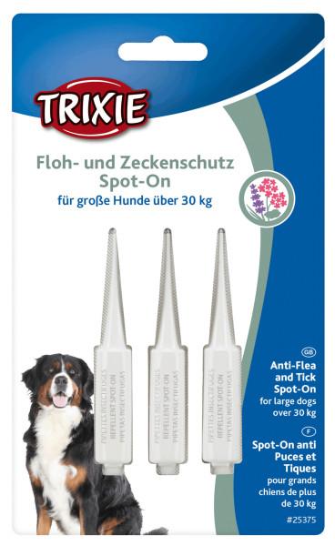 Trixie Dog Floh- und Zeckenschutz Spot on große Hunde 3x 5 ml
