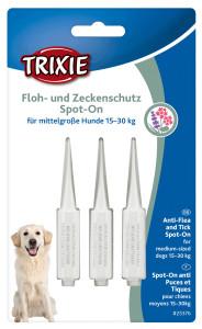 Trixie Dog Floh- und Zeckenschutz Spot on mittlere Hunde...