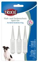 Trixie Dog Floh- und Zeckenschutz Spot on kleine Hunde 3x 1,5 ml