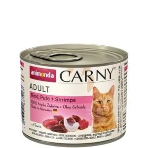 Animonda Carny Rind, Pute + Shrimps 200 g