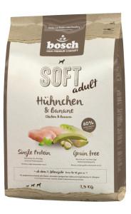 Bosch soft Hühnchen + Banane 2,5kg
