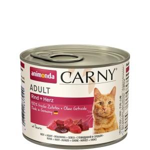 Animonda Carny Adult Rind + Herz 200 g