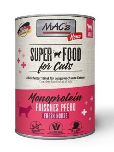 Macs Cat Super Food Monoprotein Pferd 400 g