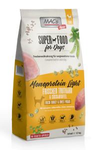 Macs Dog Superfood Mono Light Truthahn 12 kg