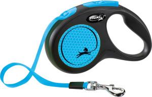 flexi New Neon Gurt 5m blau