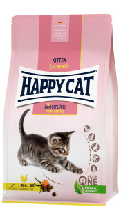 Happy Cat Kitten Land Geflügel 300 g