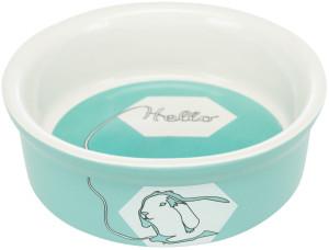 Trixie Keramiknapf mit Kaninchen-Motiv