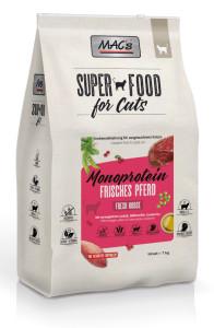 Macs Cat Superfood Mono Pferd 7 kg