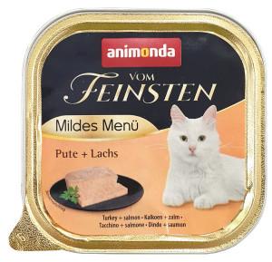 Animonda Vom Feinsten Mildes Menü Pute + Lachs 100 g