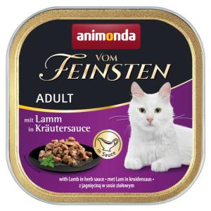 Animonda vom Feinsten mit Lamm in Kräutersauce 100 g
