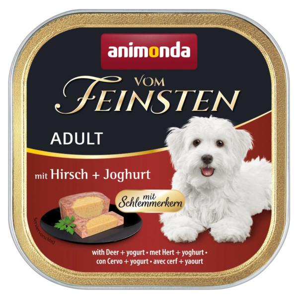 Animonda vom Feinsten Schlemmerkern Hirsch + Joghurt 150 g