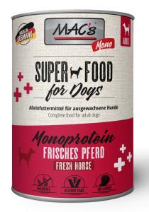 Macs Mono Super Food frisches Pferd