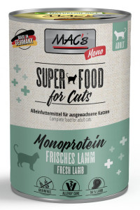 Macs Cat Super Food Monoprotein Lamm 400 g