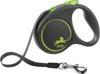 flexi Black Design Gurt 5m grün