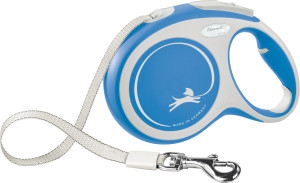 flexi New Comfort Gurt 8m blau L